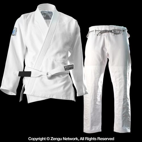 93 Brand 93 Brand Hooks BJJ Gi with Free White Belt